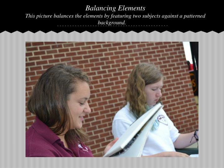 Balancing Elements
