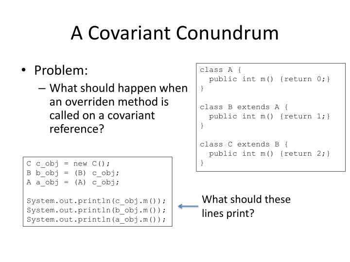 A Covariant Conundrum