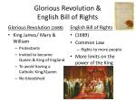 glorious revolution english bill of rights