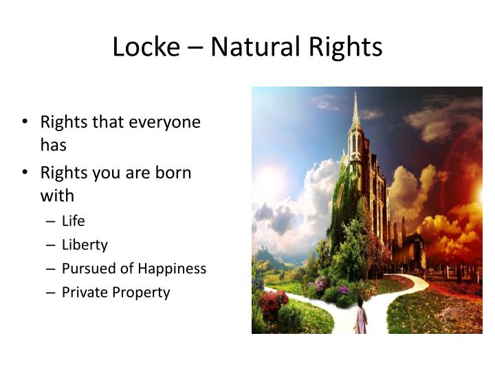 Locke – Natural Rights