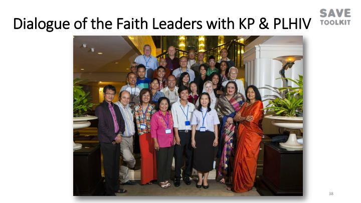 Dialogue of the Faith Leaders with KP & PLHIV