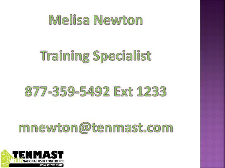 Melisa Newton