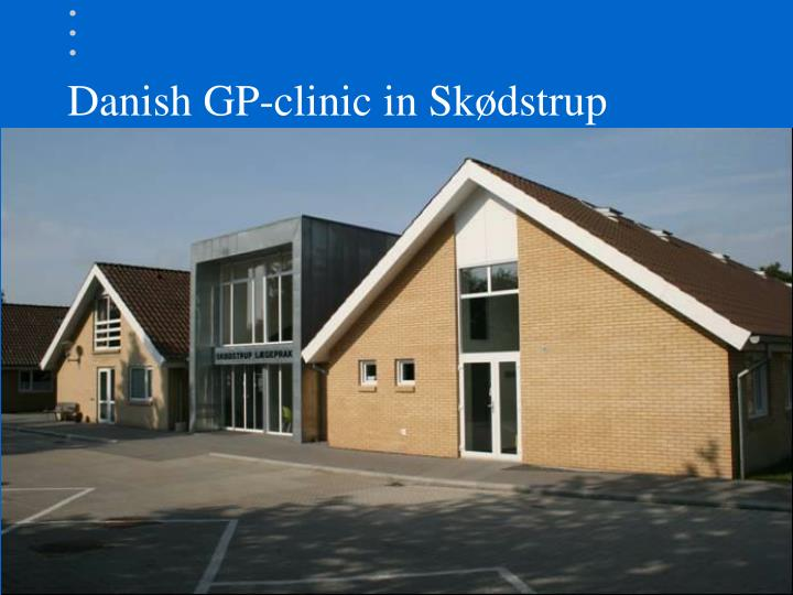 Danish gp clinic in sk dstrup
