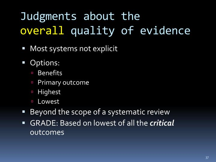 Judgments about the