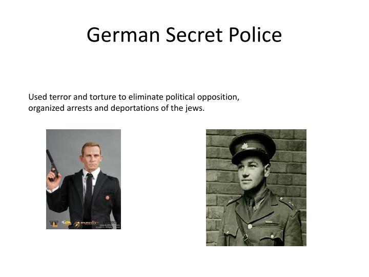 German Secret Police