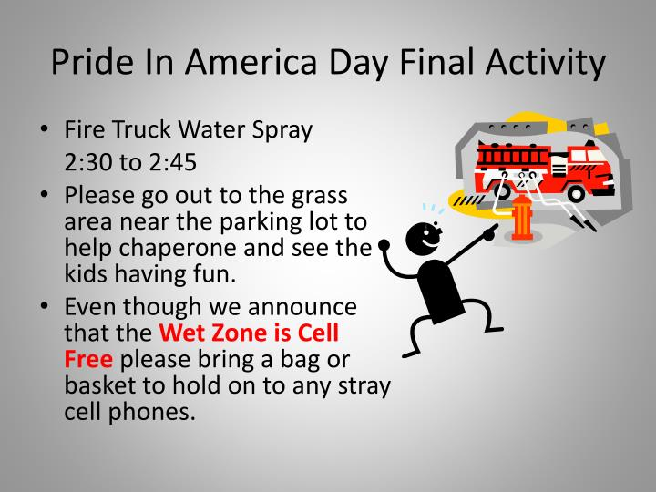 Pride In America Day Final Activity