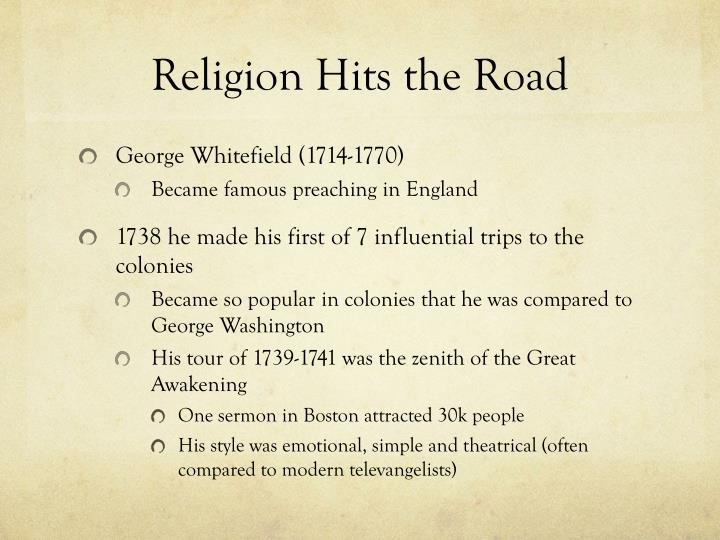 Religion Hits the Road