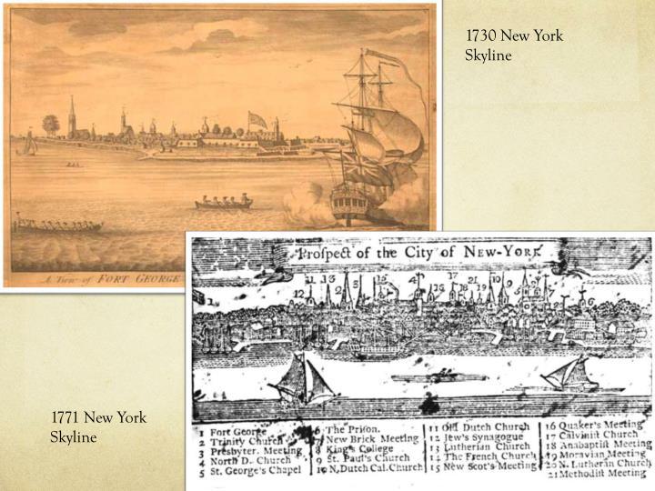1730 New York Skyline