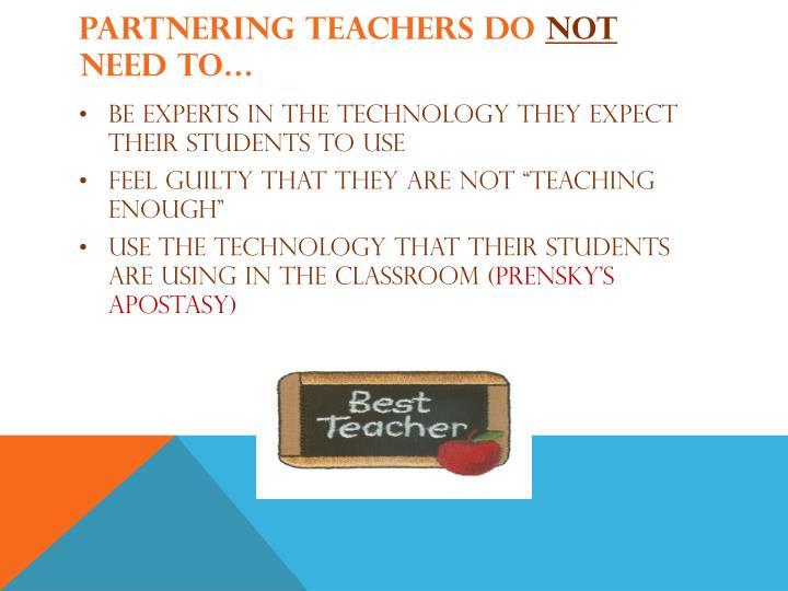 Partnering teachers DO