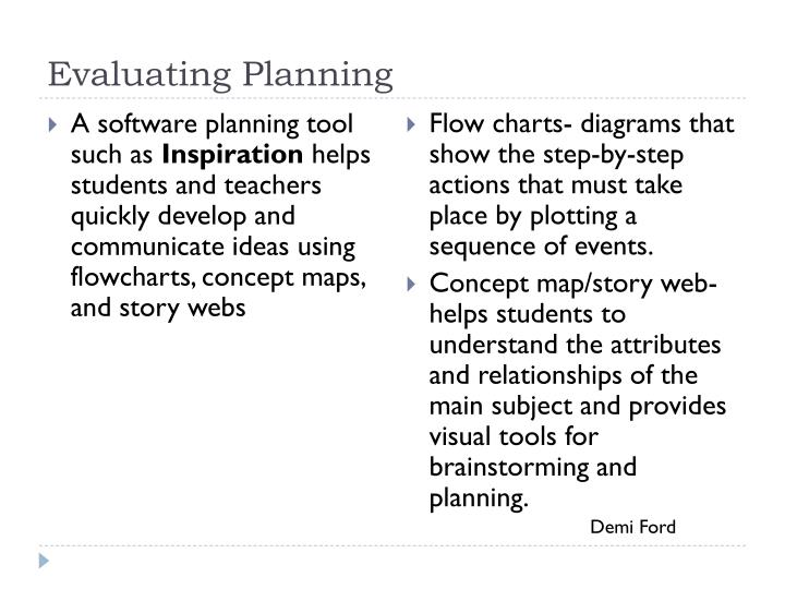Evaluating Planning