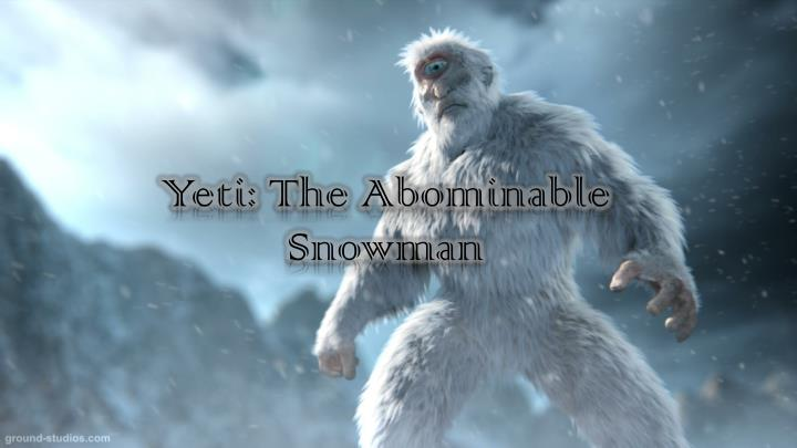 Yeti t he abominable snowman