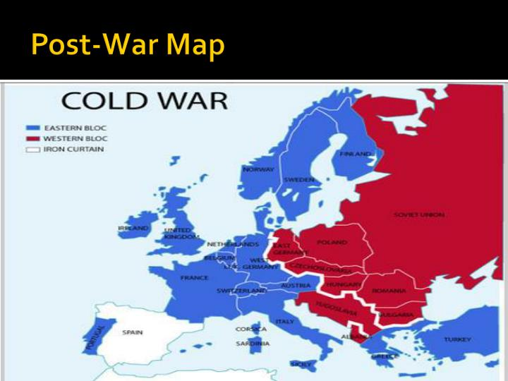 Post war map