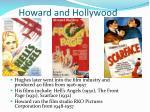 howard and hollywood
