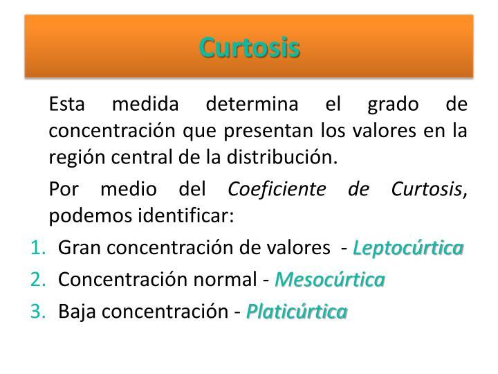 Curtosis