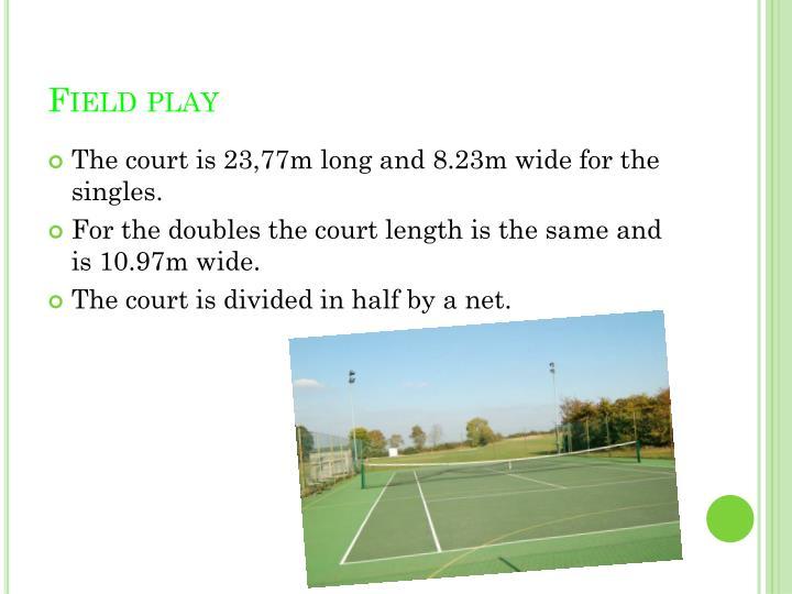 Field play