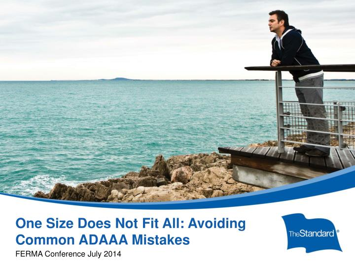One size does not fit all avoiding common adaaa mistakes