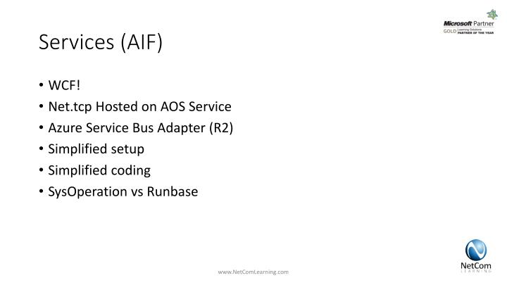 Services (AIF)