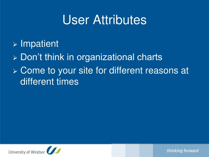 User Attributes
