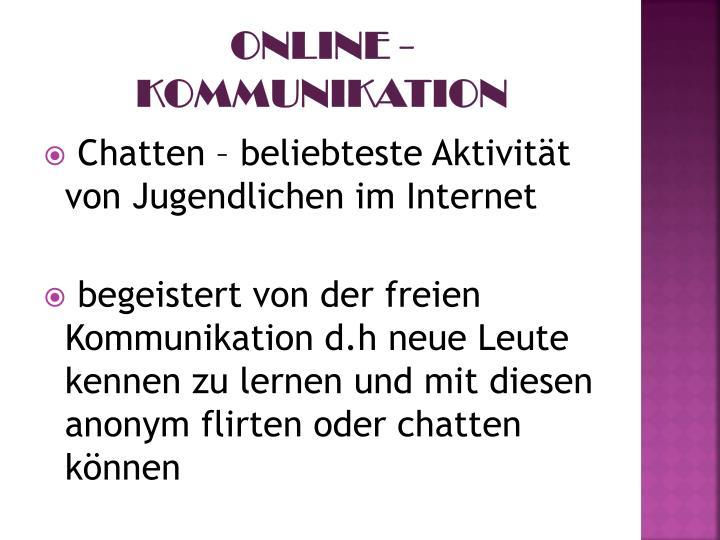 Online - Kommunikation