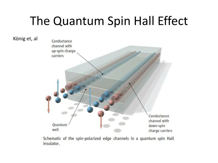 The Quantum Spin Hall Effect