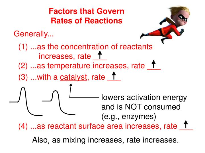 lowers activation energy