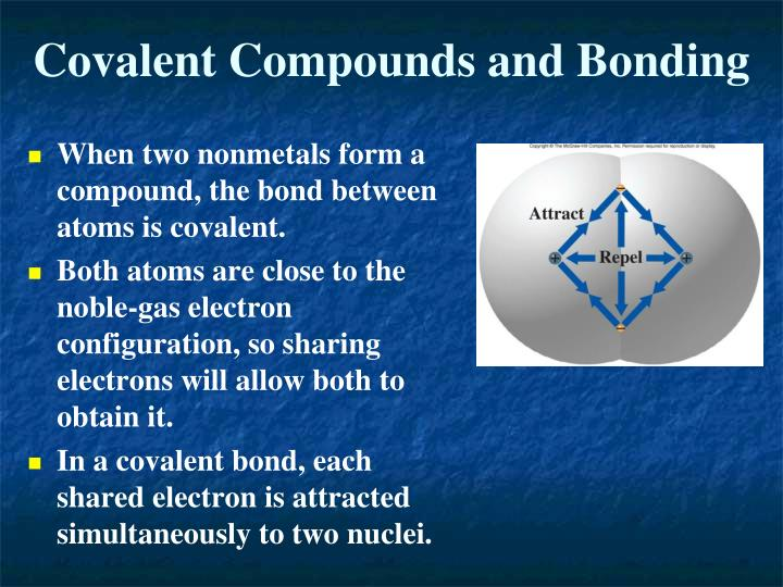 Covalent Compounds and Bonding