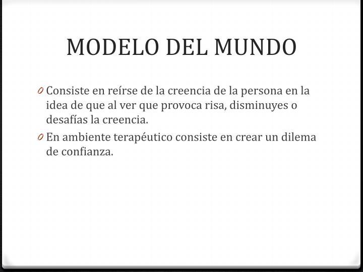 MODELO DEL