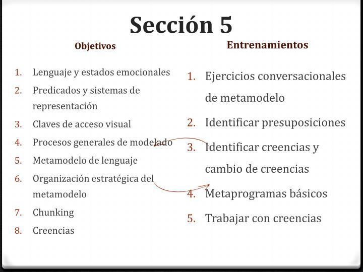 Sección 5