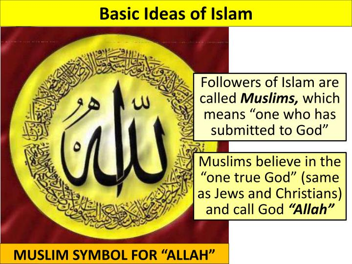 Basic Ideas of Islam