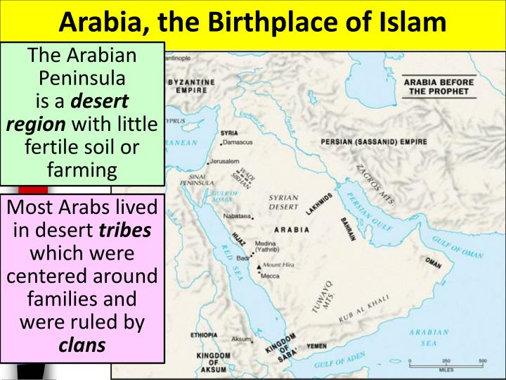 Arabia, the Birthplace of Islam