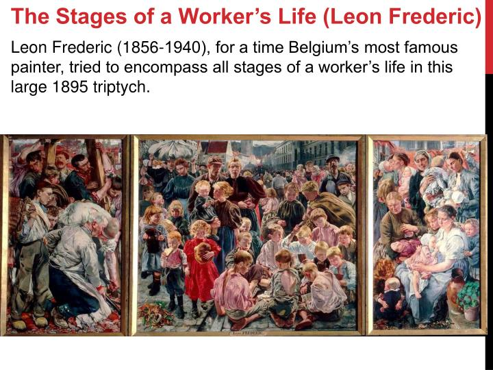 The Stages of a Worker's Life (Leon Frederic)