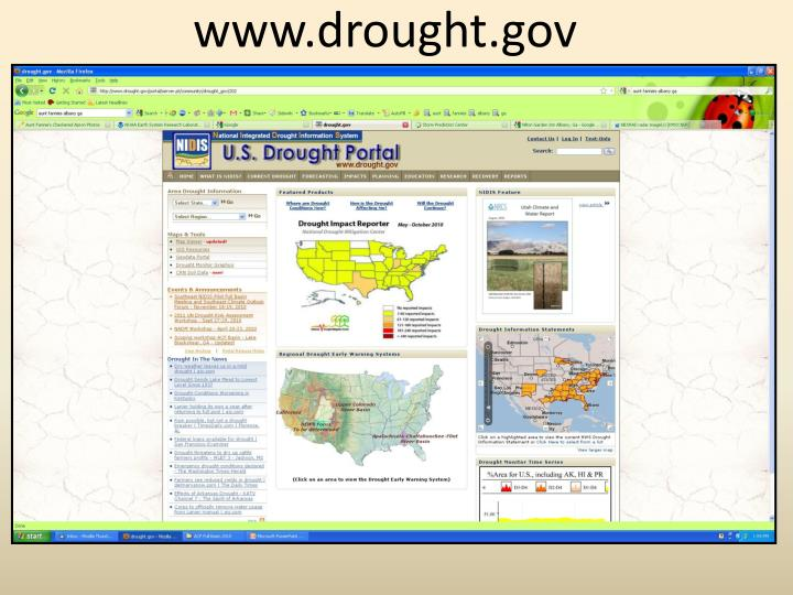 Www.drought.gov