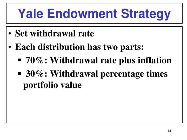 Yale Endowment Strategy