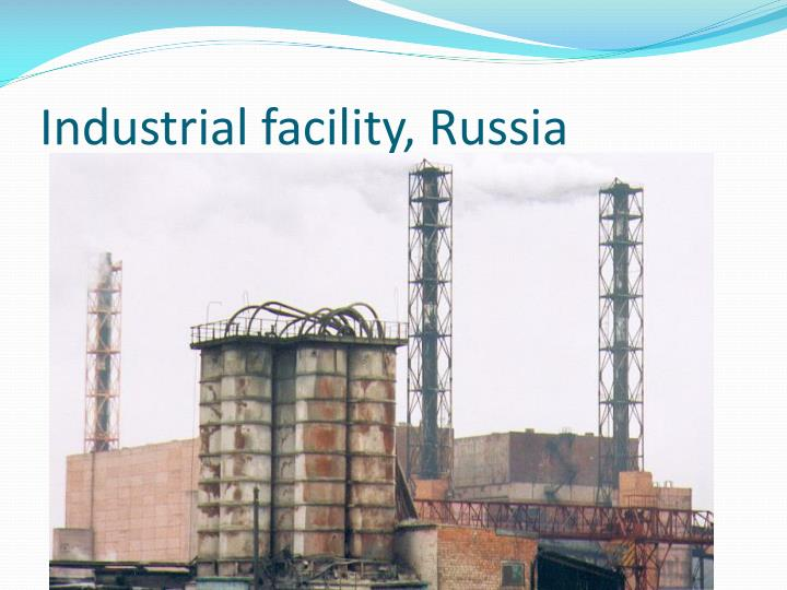 Industrial facility, Russia