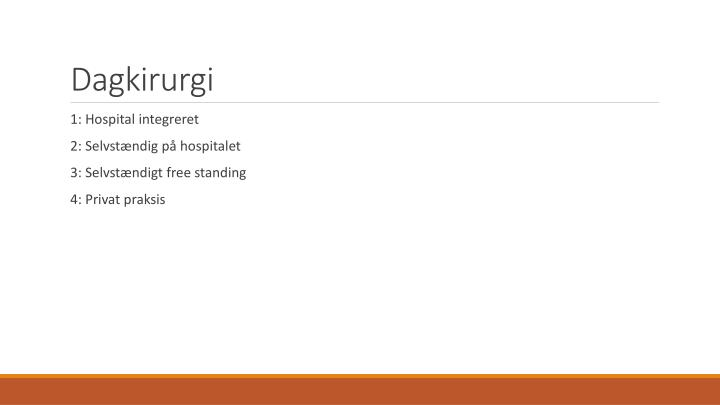 Dagkirurgi