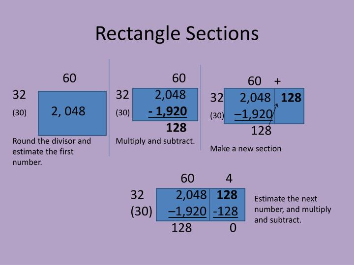 Rectangle Sections
