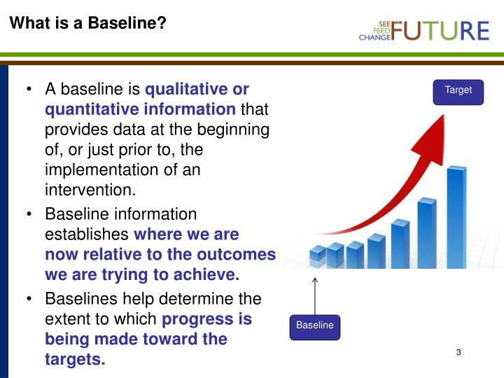 What is a baseline