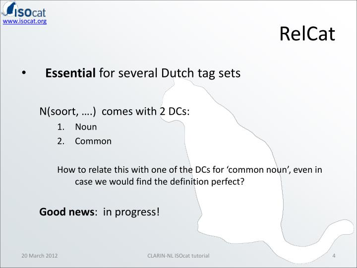 RelCat