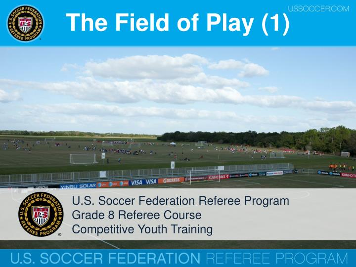 The Field of Play (1)