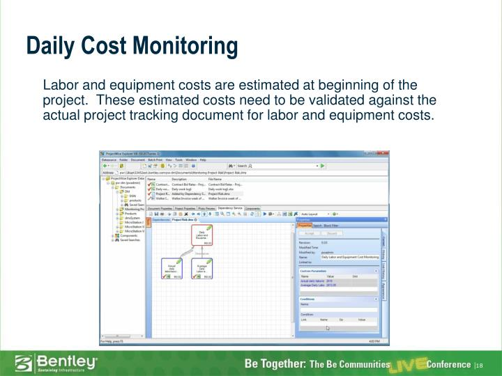 Daily Cost Monitoring