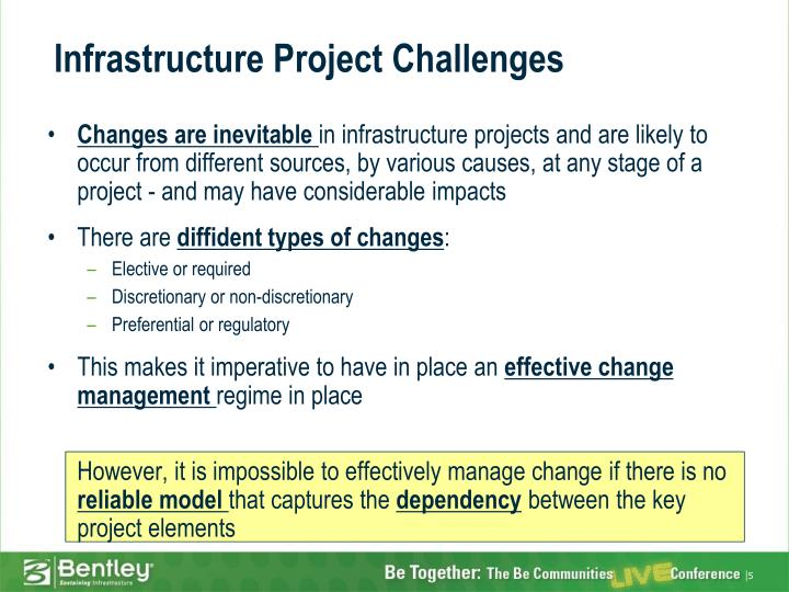 Infrastructure Project Challenges