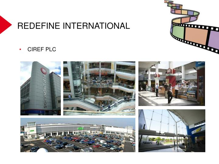 REDEFINE INTERNATIONAL