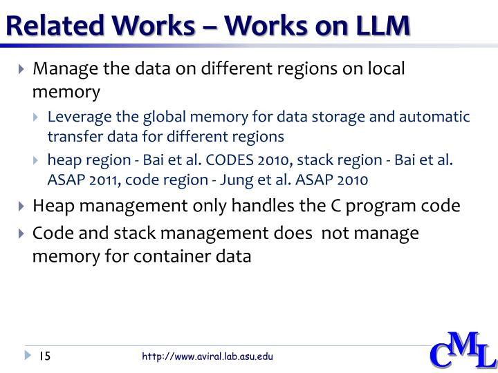 Related Works – Works on LLM