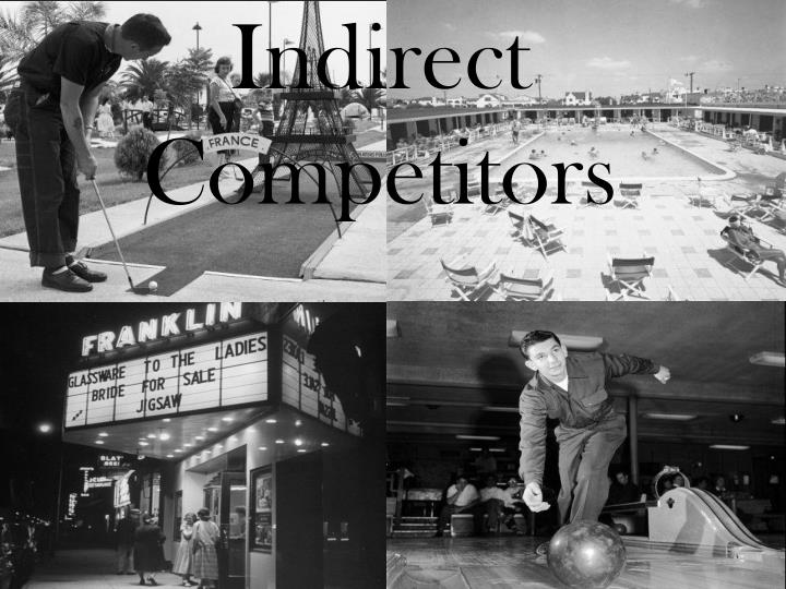 Indirect Competitors