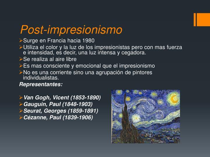 Post-impresionismo