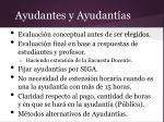 ayudantes y ayudant as