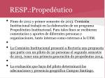 resp proped utico