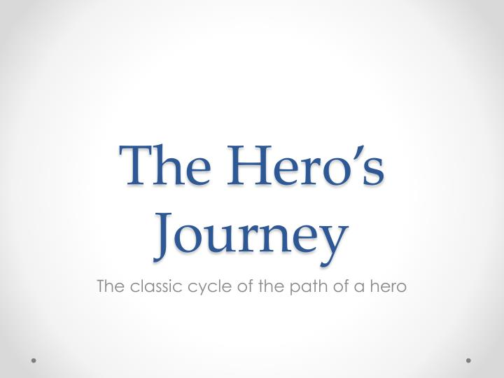 a worn path a heroic journey