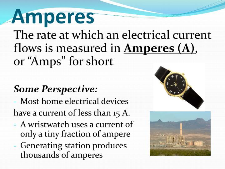 Amperes