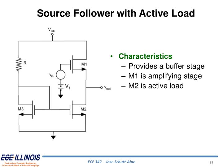 Source Follower with Active Load